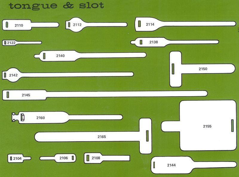 Picture of Tongue and Slot Markers