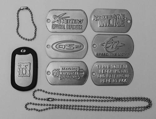 Picture of G.I. Dog Tag