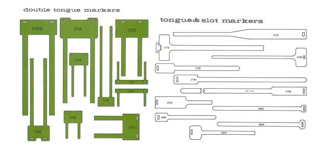 Double Tongue Markers